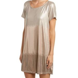 Free People drenched in sequins shift dress